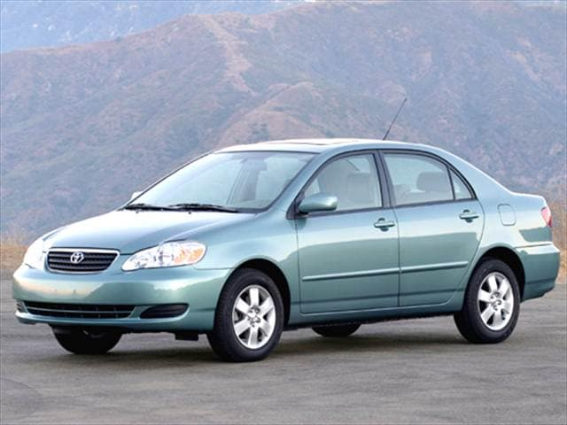 Most Popular Sedans of 2006 - 2006 Toyota Corolla