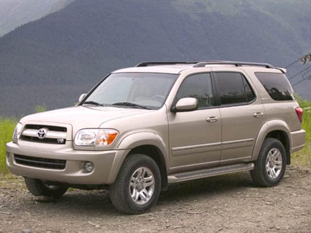 Top Consumer Rated SUVs of 2006 - 2006 Toyota Sequoia