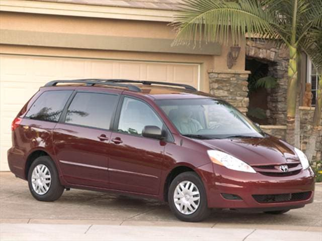 Top Consumer Rated Vans/Minivans of 2006 - 2006 Toyota Sienna