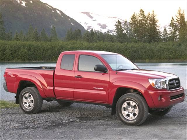 Most Fuel Efficient Trucks of 2006 - 2006 Toyota Tacoma Access Cab