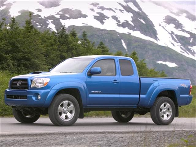 Top Consumer Rated Trucks of 2006 - 2006 Toyota Tacoma Access Cab