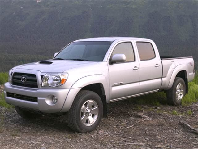 Top Consumer Rated Trucks of 2006 - 2006 Toyota Tacoma Double Cab