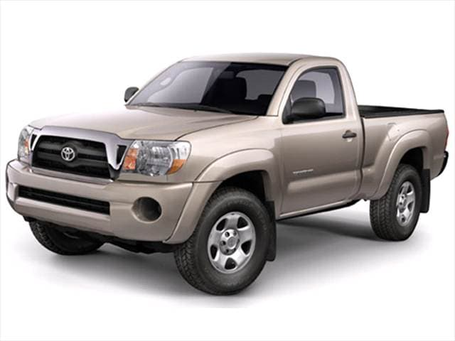 Top Consumer Rated Trucks of 2006 - 2006 Toyota Tacoma Regular Cab