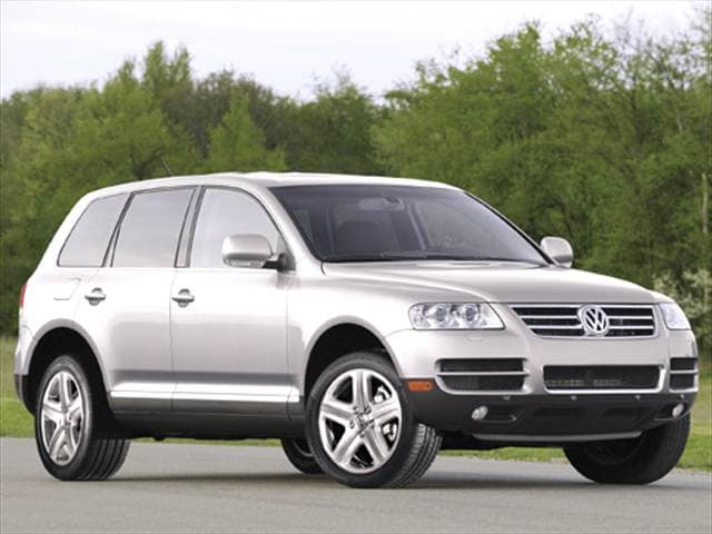 Highest Horsepower Crossovers of 2006 - 2006 Volkswagen Touareg