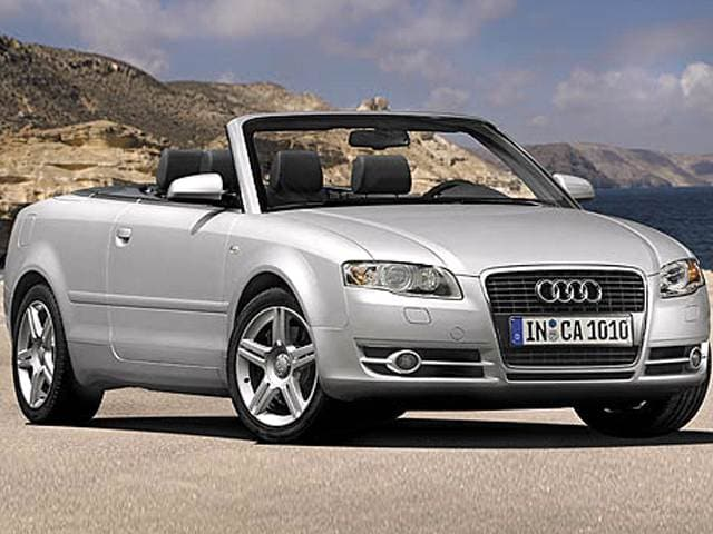 Most Fuel Efficient Luxury Vehicles of 2007 - 2007 Audi A4