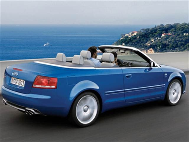 Top Consumer Rated Convertibles of 2007 - 2007 Audi S4
