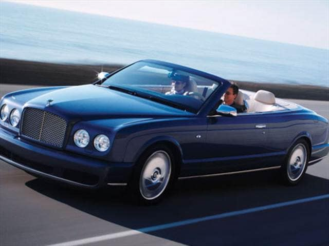 Highest Horsepower Convertibles of 2007 - 2007 Bentley Azure