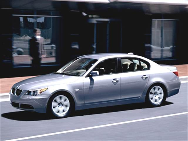 Most Popular Luxury Vehicles of 2007 - 2007 BMW 5 Series