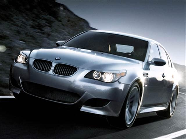 Highest Horsepower Sedans of 2007 - 2007 BMW M5
