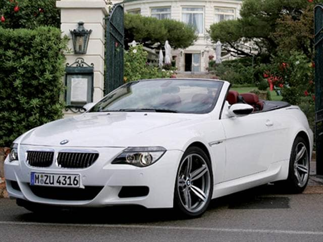 Top Consumer Rated Convertibles of 2007 - 2007 BMW M6