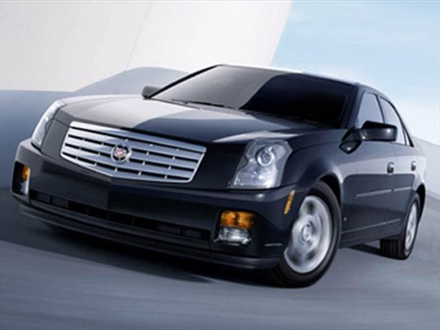 Most Popular Luxury Vehicles of 2007 - 2007 Cadillac CTS