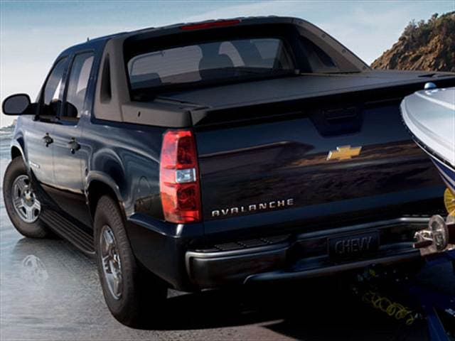 2007 Chevrolet Avalanche Values Cars For Sale Kelley Blue Book