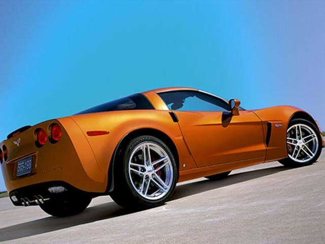 Highest Horsepower Coupes of 2007 - 2007 Chevrolet Corvette