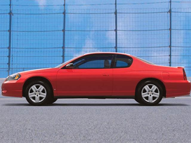 Most Popular Coupes of 2007 - 2007 Chevrolet Monte Carlo