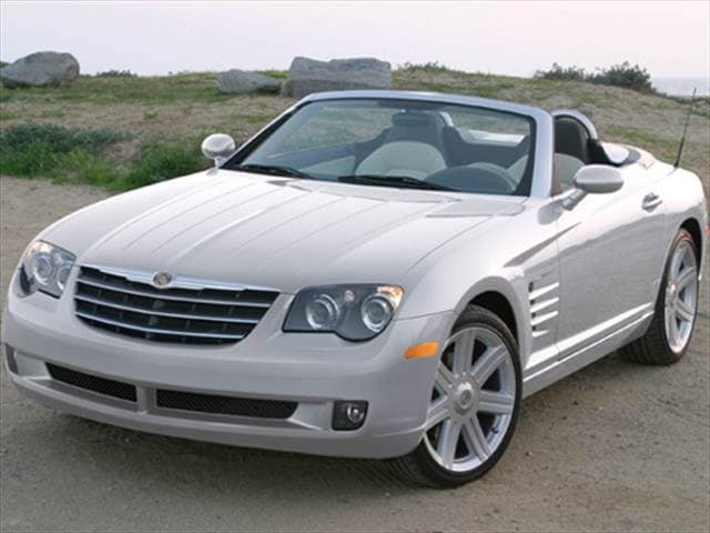 Most Fuel Efficient Convertibles of 2007 - 2007 Chrysler Crossfire