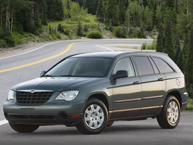 Most Popular SUVs of 2007 - 2007 Chrysler Pacifica