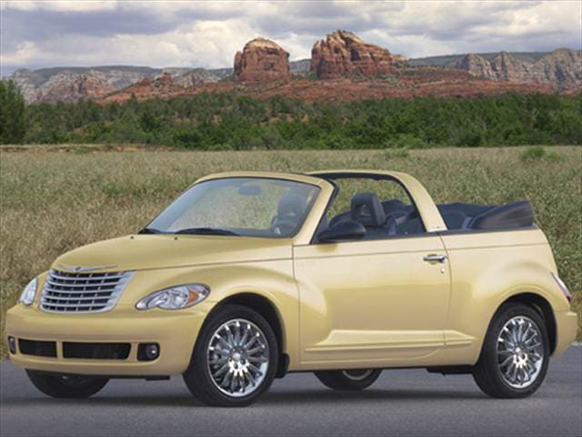 Most Fuel Efficient Convertibles of 2007 - 2007 Chrysler PT Cruiser