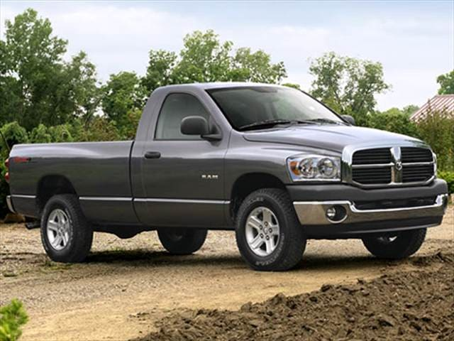 Most Popular Trucks of 2007 - 2007 Dodge Ram 1500 Regular Cab