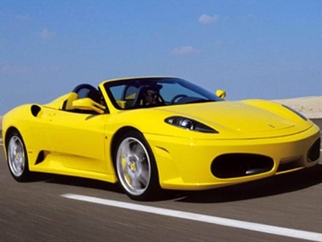 Highest Horsepower Convertibles of 2007 - 2007 Ferrari F430