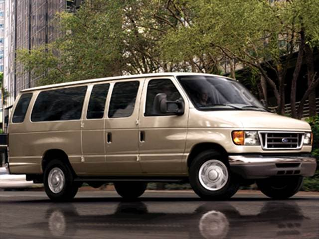 Top Consumer Rated Vans/Minivans of 2007 - 2007 Ford E350 Super Duty Passenger