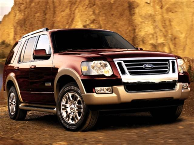2007 Ford Explorer Eddie Bauer >> 2007 Ford Explorer Pricing Reviews Ratings Kelley Blue Book