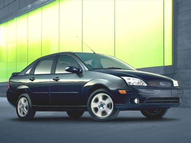 Most Popular Sedans of 2007 - 2007 Ford Focus