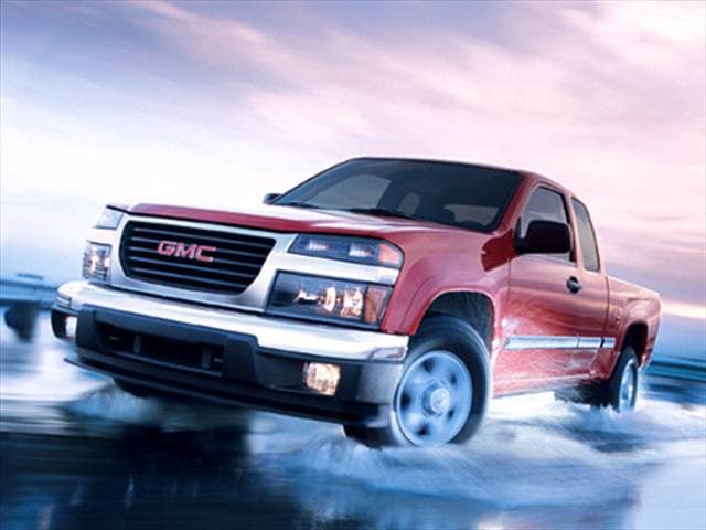 Most Fuel Efficient Trucks of 2007 - 2007 GMC Canyon Extended Cab
