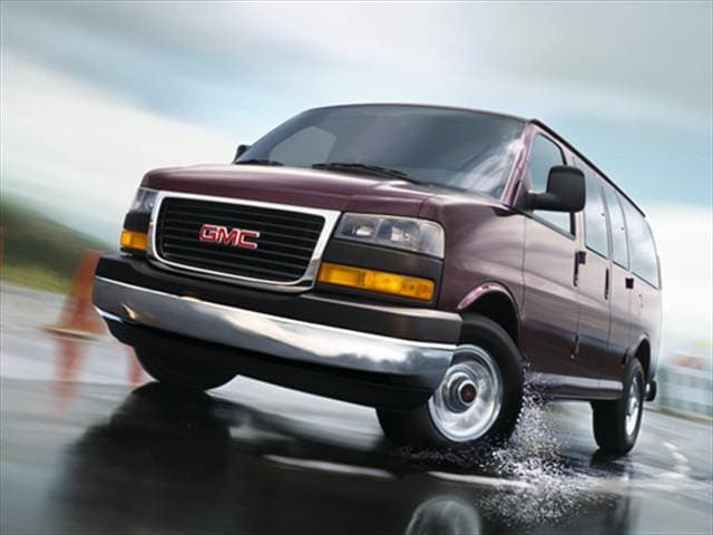 Top Consumer Rated Vans/Minivans of 2007 - 2007 GMC Savana 1500 Cargo