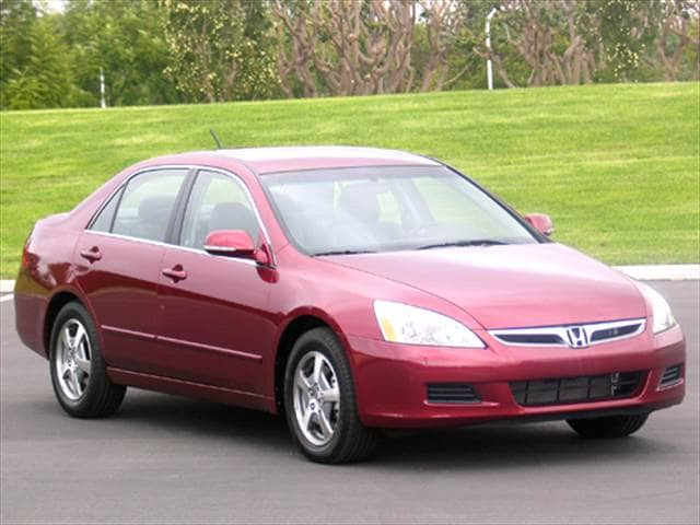 Top Consumer Rated Hybrids of 2007 - 2007 Honda Accord
