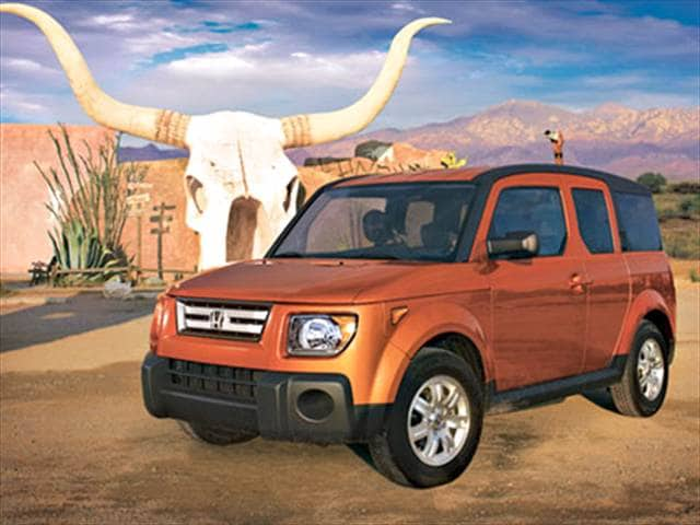 Most Fuel Efficient Crossovers of 2007 - 2007 Honda Element