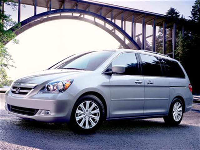 Top Consumer Rated Vans/Minivans of 2007 - 2007 Honda Odyssey