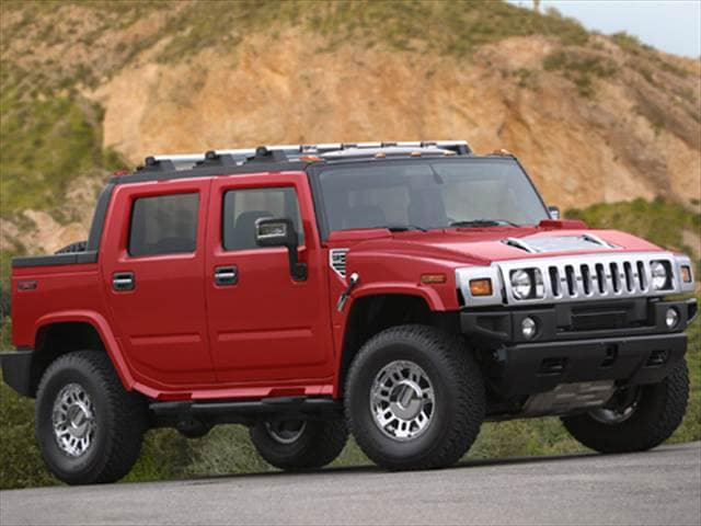 Top Consumer Rated Trucks of 2007 - 2007 HUMMER H2