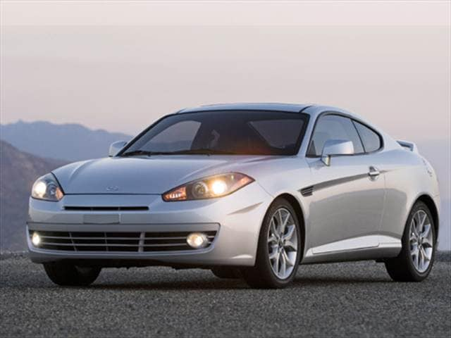 Highest Horsepower Hatchbacks of 2007 - 2007 Hyundai Tiburon