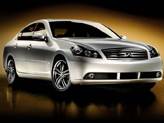 Top Consumer Rated Luxury Vehicles of 2007 - 2007 INFINITI M