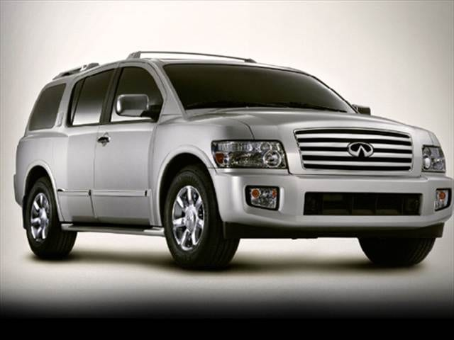 2007 infiniti qx56 sport utility 4d used car prices kelley blue book. Black Bedroom Furniture Sets. Home Design Ideas