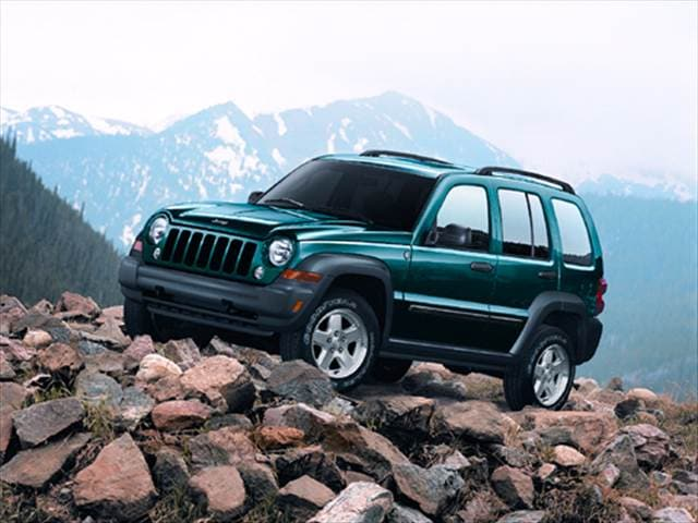 Most Popular SUVs of 2007 - 2007 Jeep Liberty
