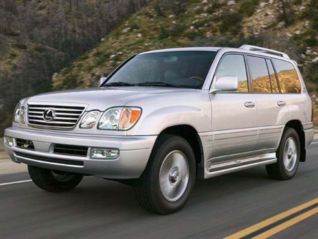 Top Consumer Rated SUVs of 2007 - 2007 Lexus LX