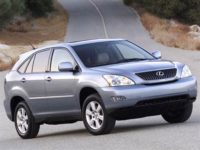 Top Consumer Rated Crossovers of 2007 - 2007 Lexus RX