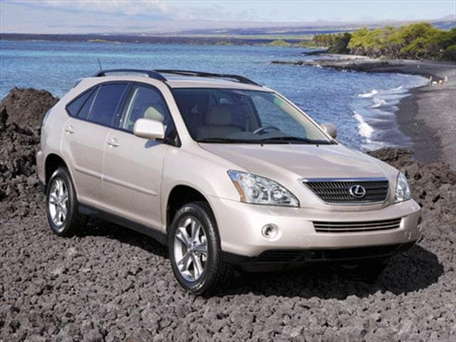 Most Fuel Efficient Luxury Vehicles of 2007 - 2007 Lexus RX