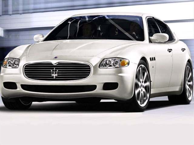 Top Consumer Rated Sedans of 2007 - 2007 Maserati Quattroporte