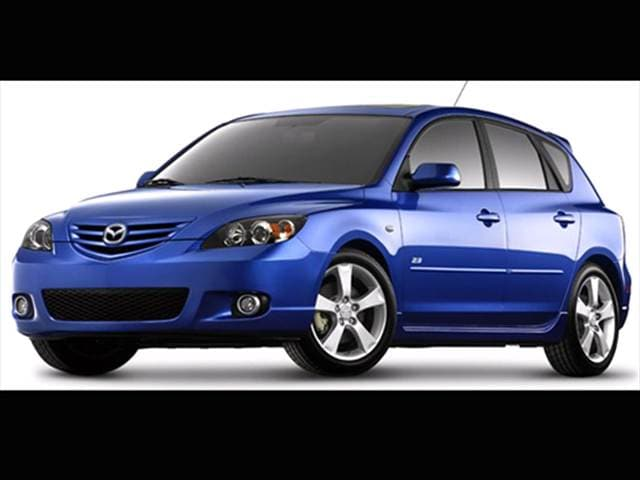 Most Popular Hatchbacks of 2007 - 2007 Mazda MAZDA3
