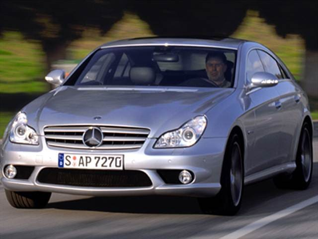 Highest Horsepower Coupes of 2007 - 2007 Mercedes-Benz CLS-Class