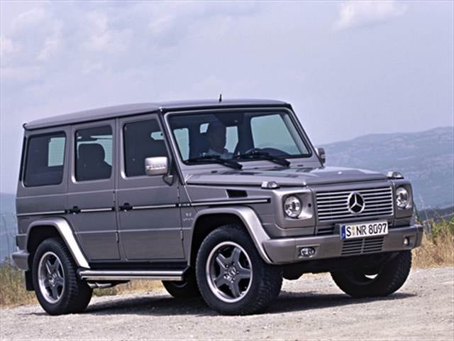 Highest Horsepower SUVs of 2007 - 2007 Mercedes-Benz G-Class