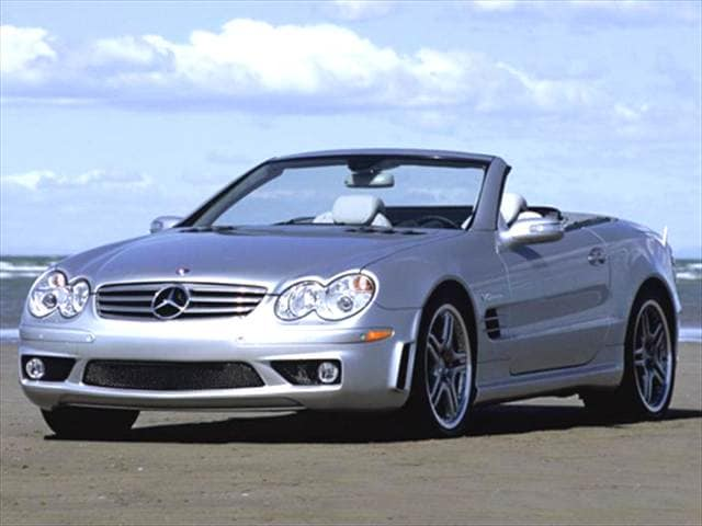 Highest Horsepower Convertibles of 2007 - 2007 Mercedes-Benz SL-Class