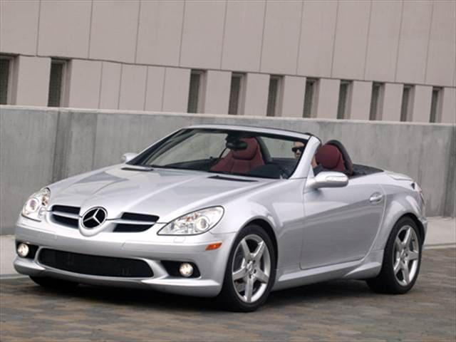 Kbb Used Car Value Calculator >> Used 2007 Mercedes-Benz SLK-Class SLK 350 Roadster 2D Pricing   Kelley Blue Book