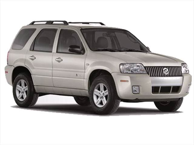 Most Fuel Efficient Crossovers of 2007 - 2007 Mercury Mariner
