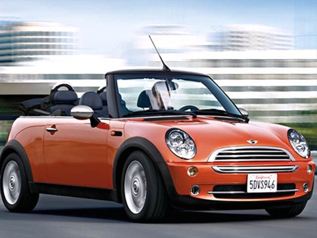 Most Fuel Efficient Convertibles of 2007 - 2007 MINI Convertible