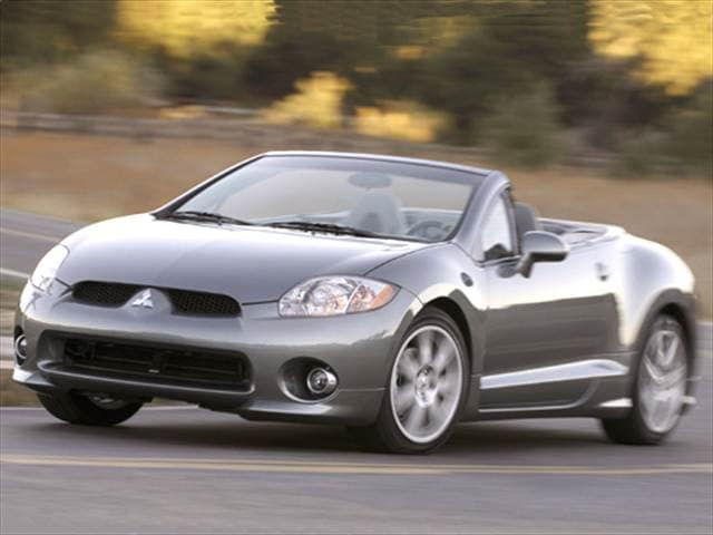 Most Popular Convertibles of 2007 - 2007 Mitsubishi Eclipse