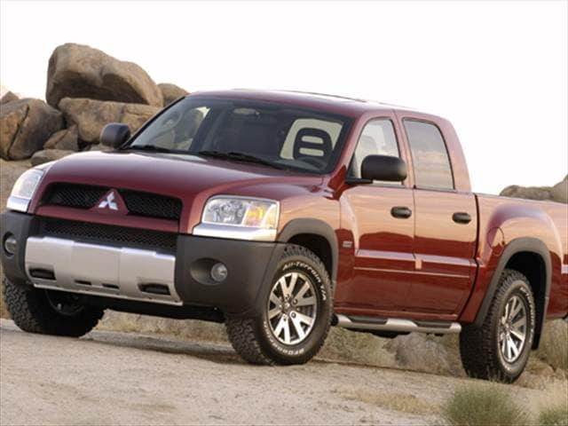 Kelley Blue Book Value Used Cars And Trucks >> Used 2007 Mitsubishi Raider Double Cab LS Pickup 4D 5 1/4 ...