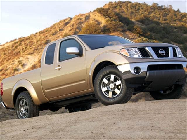 Most Fuel Efficient Trucks of 2007 - 2007 Nissan Frontier King Cab